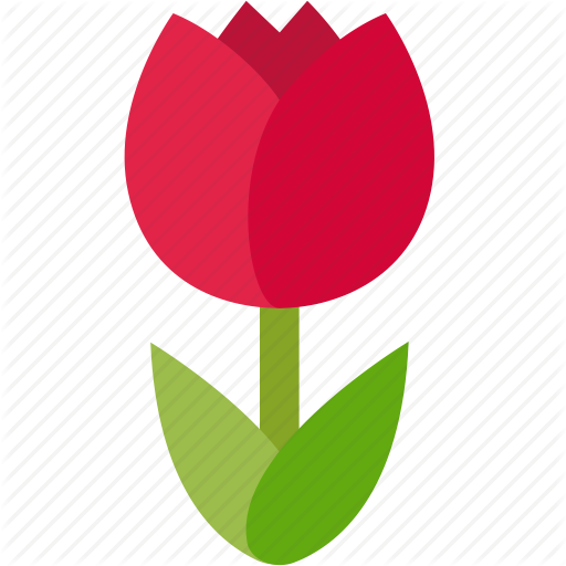 Flora, Floral, Florist, Flower, Gardener, Love, Tulip Icon