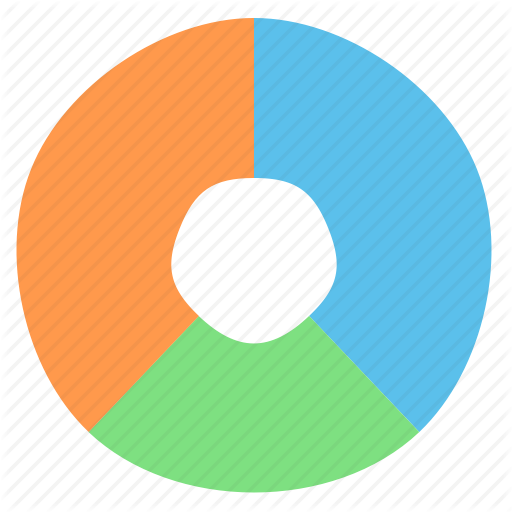 Chart, Graph, Pie, Radial, Sections Icon