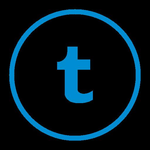 Circle, Circular, Media, Network, Social, Tumblr Icon