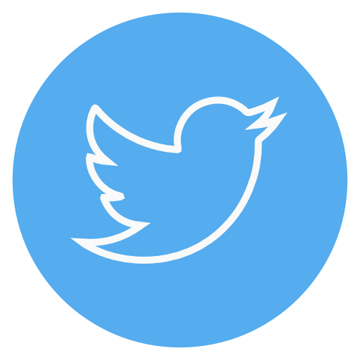 Red Circle Twitter Logo Png Images