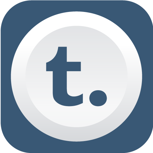 Tumblr Icon Rounded Flat Social Iconset Graphicloads