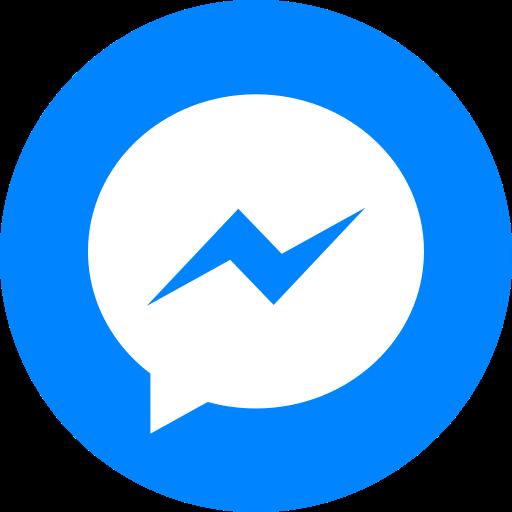 Media, Logo, Share, Messenger, Circle, Facebook, Social Icon