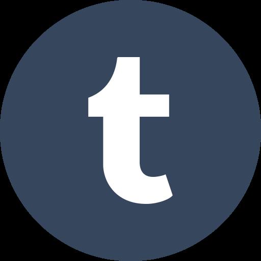 Network, Social, Blog, Tumblr, Logo, Circle Icon