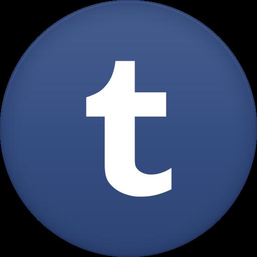Tumblr Icon Free Of Circle Icons
