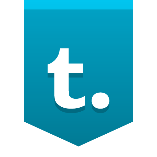 Tumblr Icon Social Media Buntings Iconset Social Media Icons
