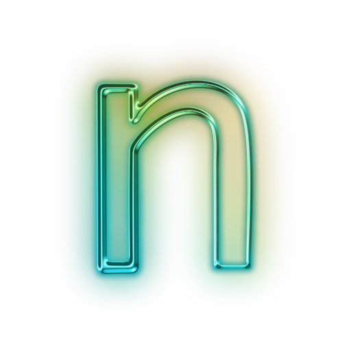Vector Letter N Icon