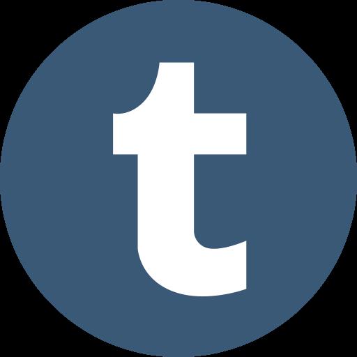 Logo, Music, Player, Sociamedia, Tumblr Icon