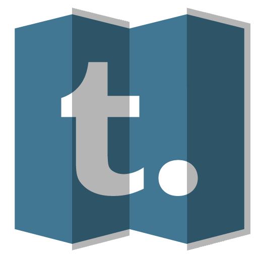 Tumblr Icon Folded Social Media Iconset Designbolts