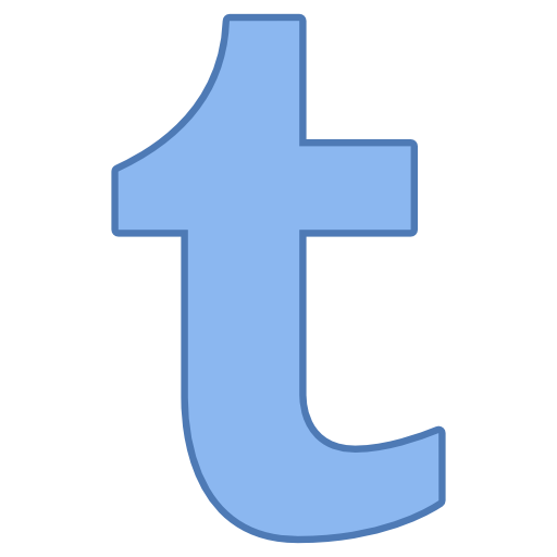 Tumblr Icon Free Of Responsive Office Icons