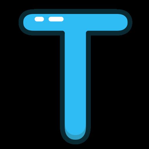 T, Social, Tumblr, Media Icon