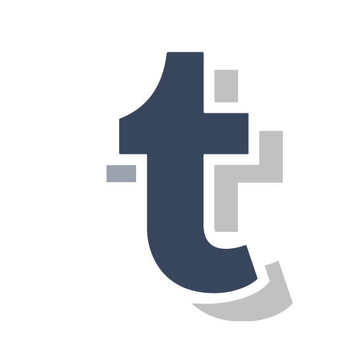 Media, Social, Online, Tumblr, Logo, Tumblr Logo, Tumblr New Logo Icon