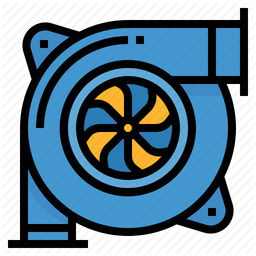 Auto, Automobile, Engine, Turbo, Turbocharged Icon