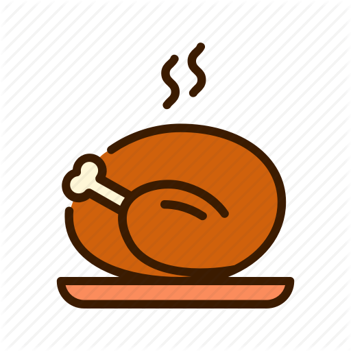 Holiday, Thanksgiving, Turkey Icon