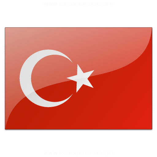Iconexperience V Collection Flag Turkey Icon