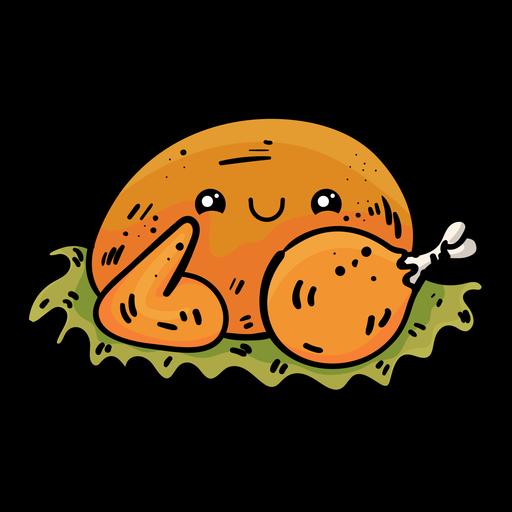 Roast Turkey Cartoon Icon