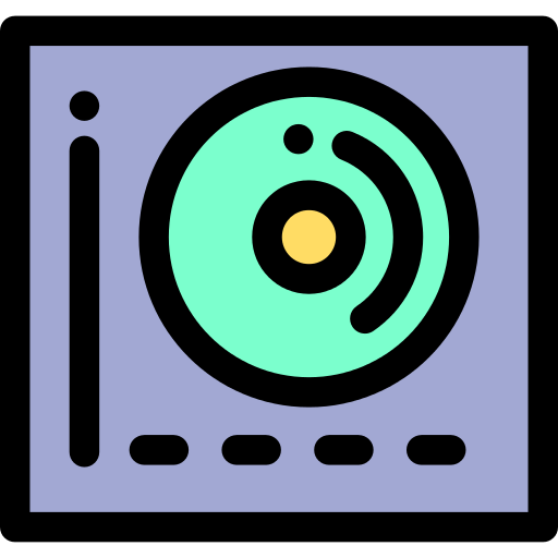 Turntable Vinyl Png Icon