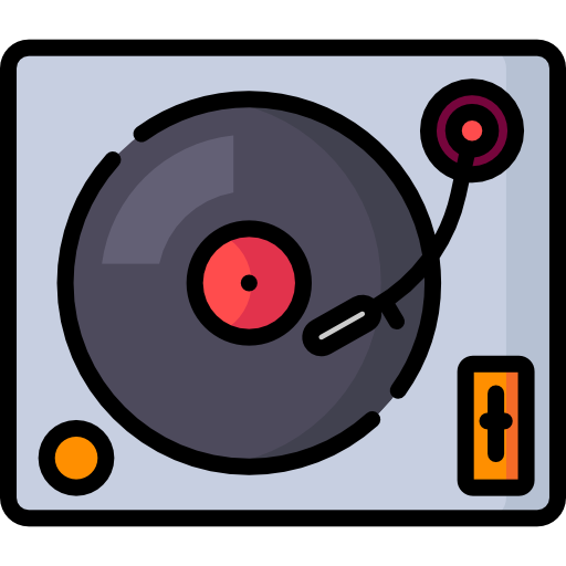 Turntable Free Vector Icons Designed