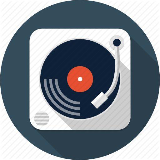 Audio, Dj, Multimedia, Music, Sound, Turntable, Vinyl Icon Icons