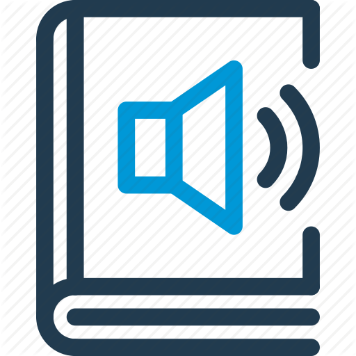 Audio, Book, E Learning, Lesson, Online, Tutorial Icon
