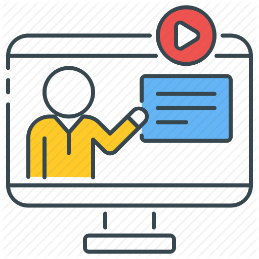 Course, Courses, Learning, Online, Teaching, Tutorial, Video Icon