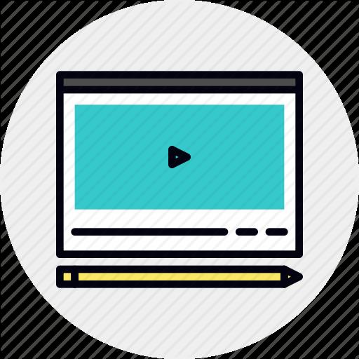 Course, Education, Tutorial, Video Icon