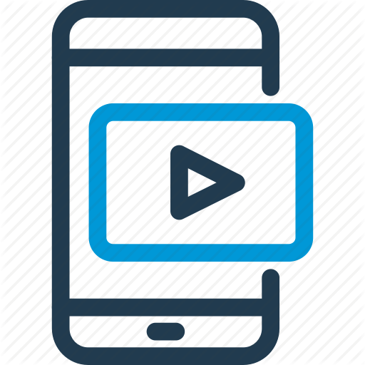 E Learning, Education, Lesson, Mobile, Online, Tutorial, Video Icon