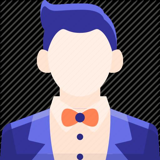 Groom, Handsome, Male, Man, Tux, Tuxedo Icon