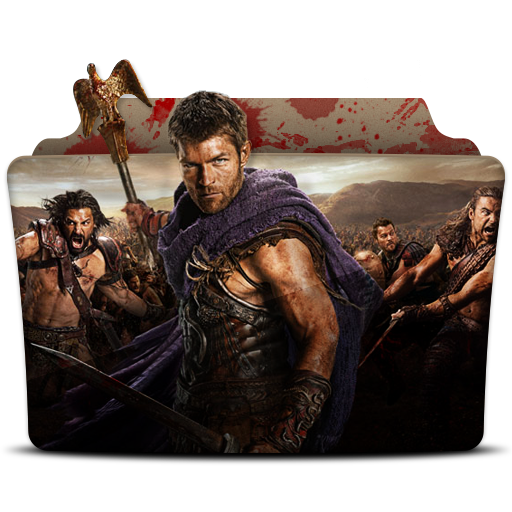 Spartacus Icon Tv Series Folder Pack Iconset