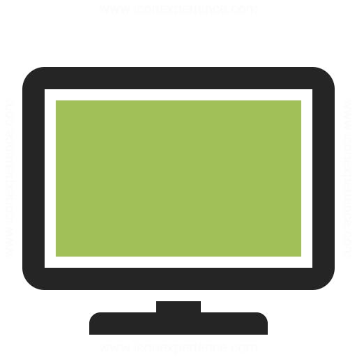 Flatscreen Tv Icon Iconexperience