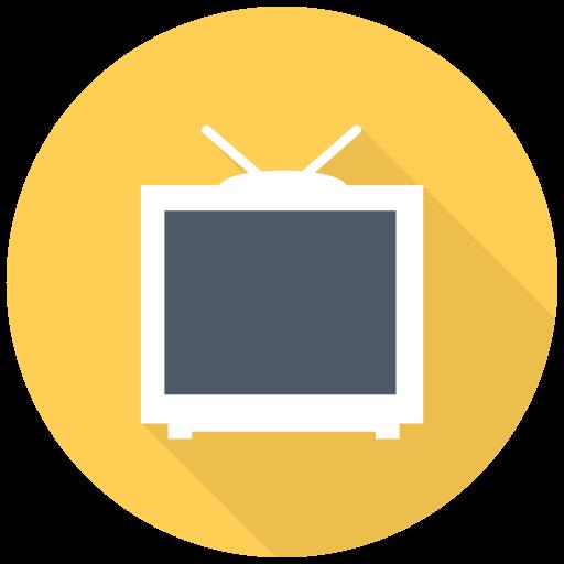 Tv Icon Free Of Free Flat Multimedia Icons