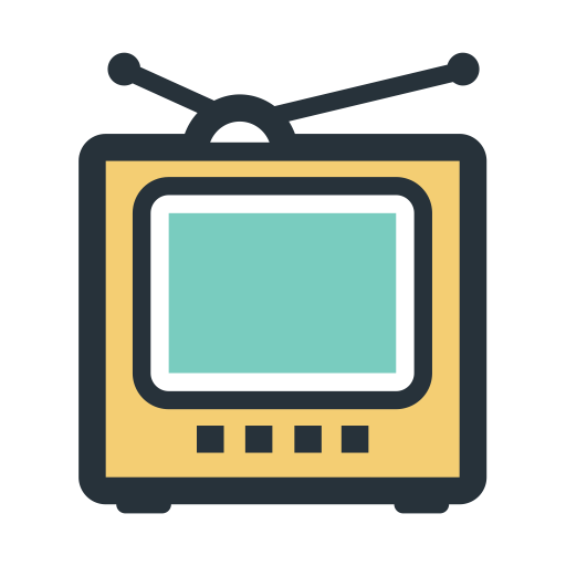 Color Block Tv Set, Tv, Youtube Icon With Png And Vector Format