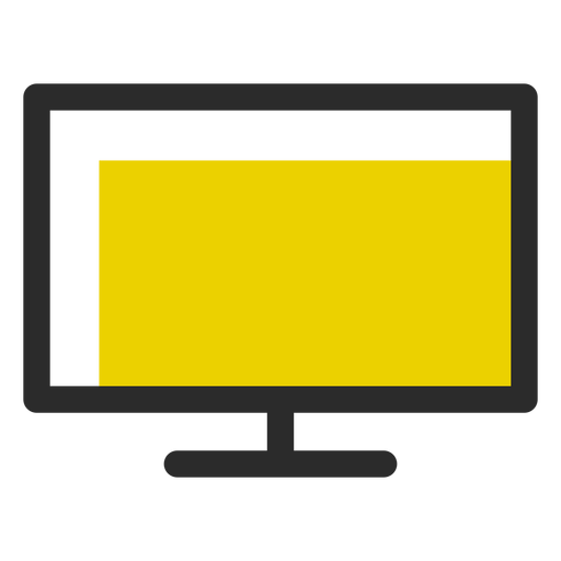 Vector Television Computer Screen Transparent Png Clipart Free