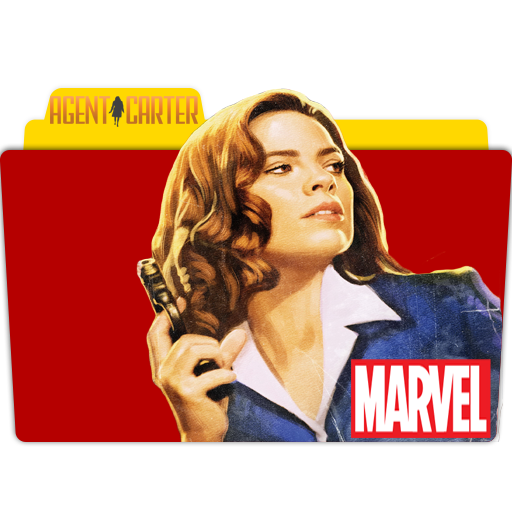 Marvels Agent Carter Folder Icon Movie, Tv Show, Anime, Game