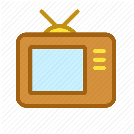 Old, Screen, Show, Television, Tv, Vintage Icon