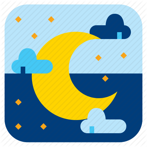 Linght, Moon, Night, Twilight Icon