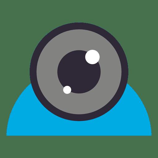 Flat Webcam Icon