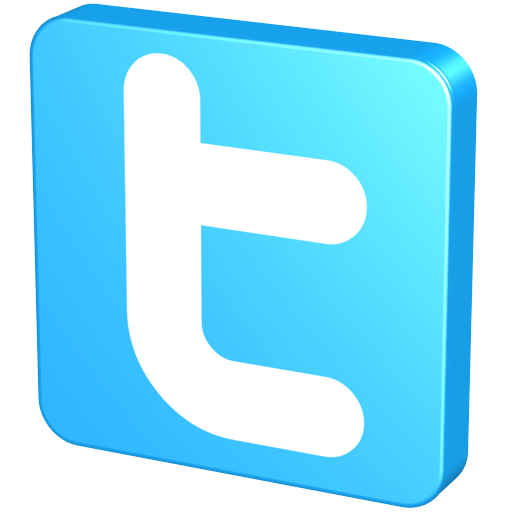 Blue, Knob, Pin, Snap, Tack, Twitter, Twitter Button Icon