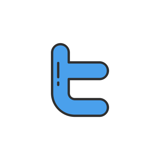 Twitter Logo, Twitter, Social Media, Twitter Button Icon
