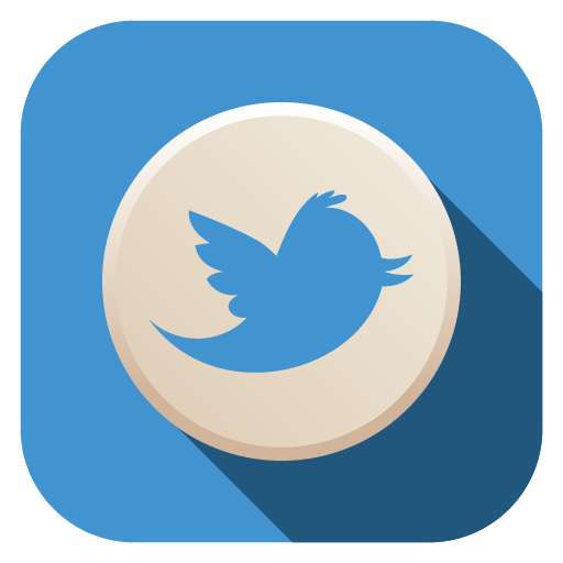Flat Twitter Icon Images