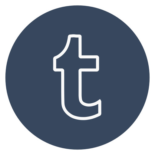 Outline, Twitter, Circle, T, Social Media Icon