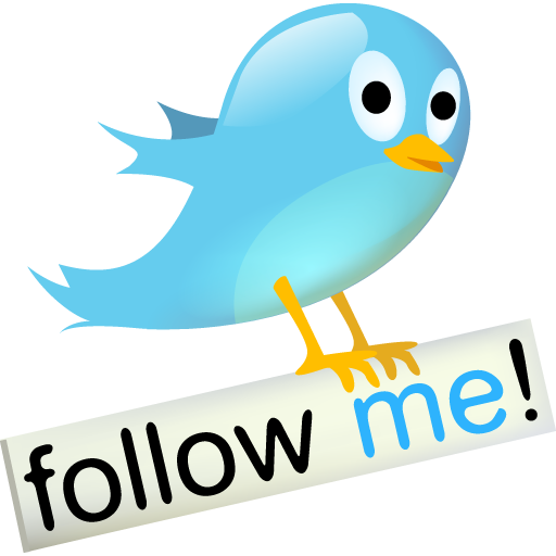 Follow Me On Twitter Logo Png Images