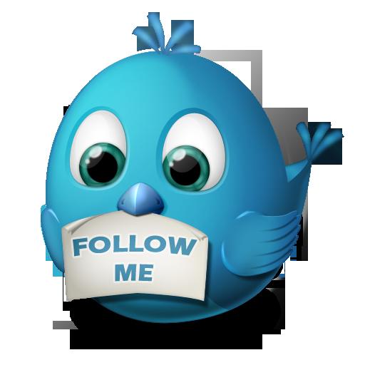 Twitter Follow Me Icon Birdies Iconset Arrioch