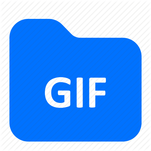Archive, Folder, Format, Gif Icon