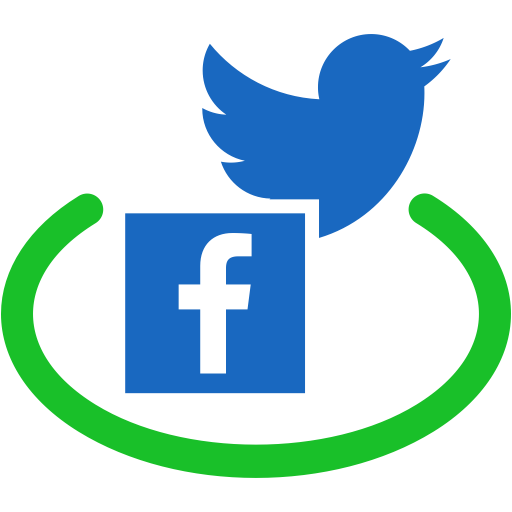 Facebook And Twitter Icons Transparent Png Clipart Free Download