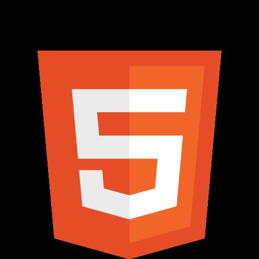 Five, Html, Logo, Icon