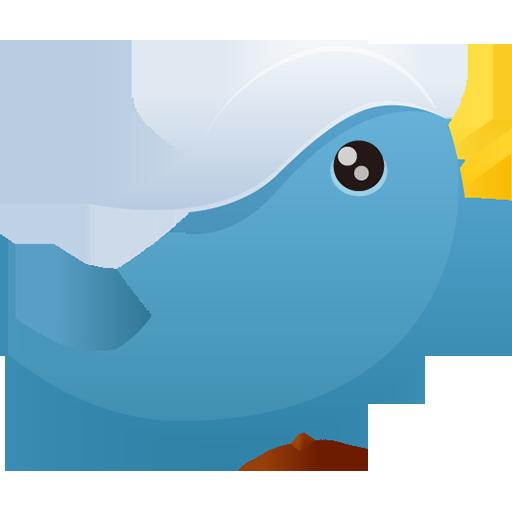 Twitter Icon Pretty Office Iconset Custom Icon Design