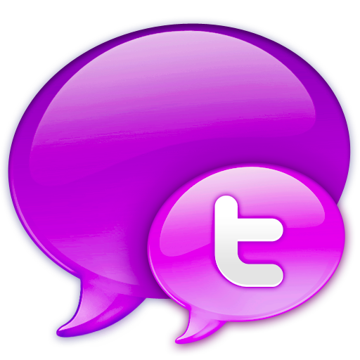 In, Logo, Pink, Twitter Icon