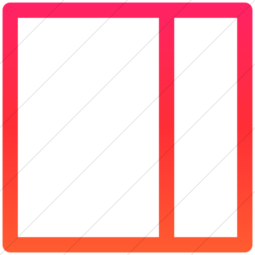 Simple Ios Orange Gradient Layouts Outline Twothird