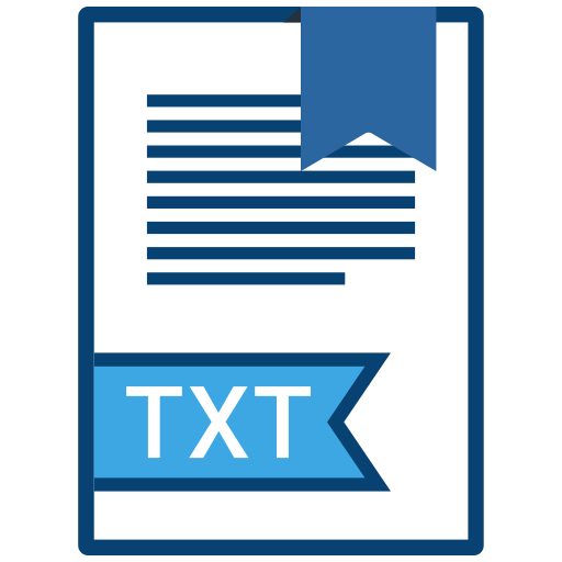 , Extension, Txt, Filetype Icon Free Of Extension Names Vol