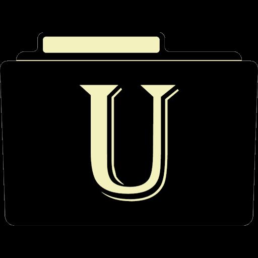 U Icon Alphabet Folder Iconset Aaron Sinuhe